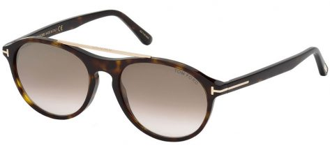 TOM FORD TF556 52G Dark Havana/Brown Shaded