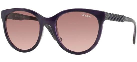 VOGUE 2915S 2261/8H Top Violet/Glietter Violet/Violet Gradient Lenses