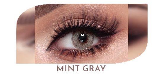 Bella Elite - Mint Gray - 1 box 2 lenses